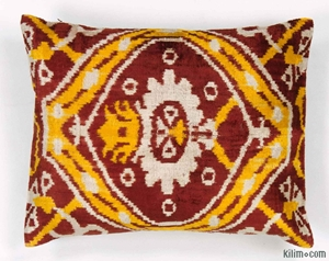 Picture for category Silk Ikat Pillows