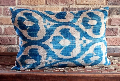 Velvet Pillow Cover -  Hand Woven Silk Velvet - Ernemet.com