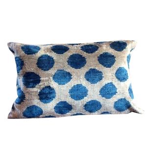 Picture for category Silk Ikat Velvet Pillows
