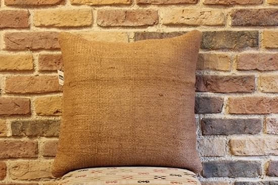 Picture of VINTAGE HAND MADE HEMP PILLOW