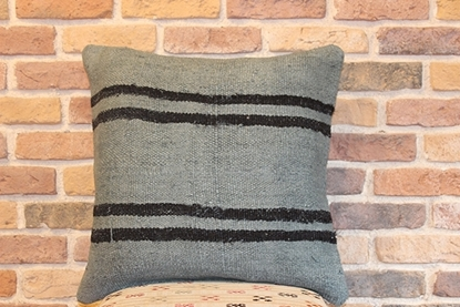 Picture of VINTAGE HANDMADE HEMP PILLOW